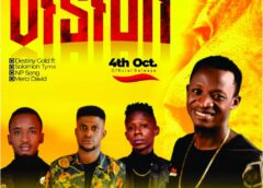 Music: Destiny Gold Ft. Solomon Tyme X NP Song X Merci David – Vision